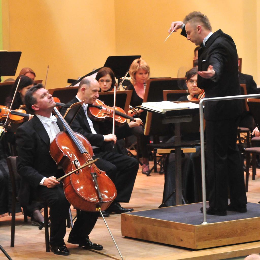 Wojciech Rodek i Tomasz Strahl podczas kocnertu w Colegium Maius UM