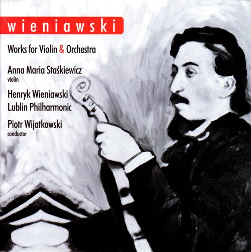 okłądka płyty z muzyką wieniawskiego, obraz H. wieniawskiego