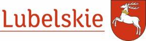 Logo Województwa Lubelskiego - napis Lubelskie i herb województwa