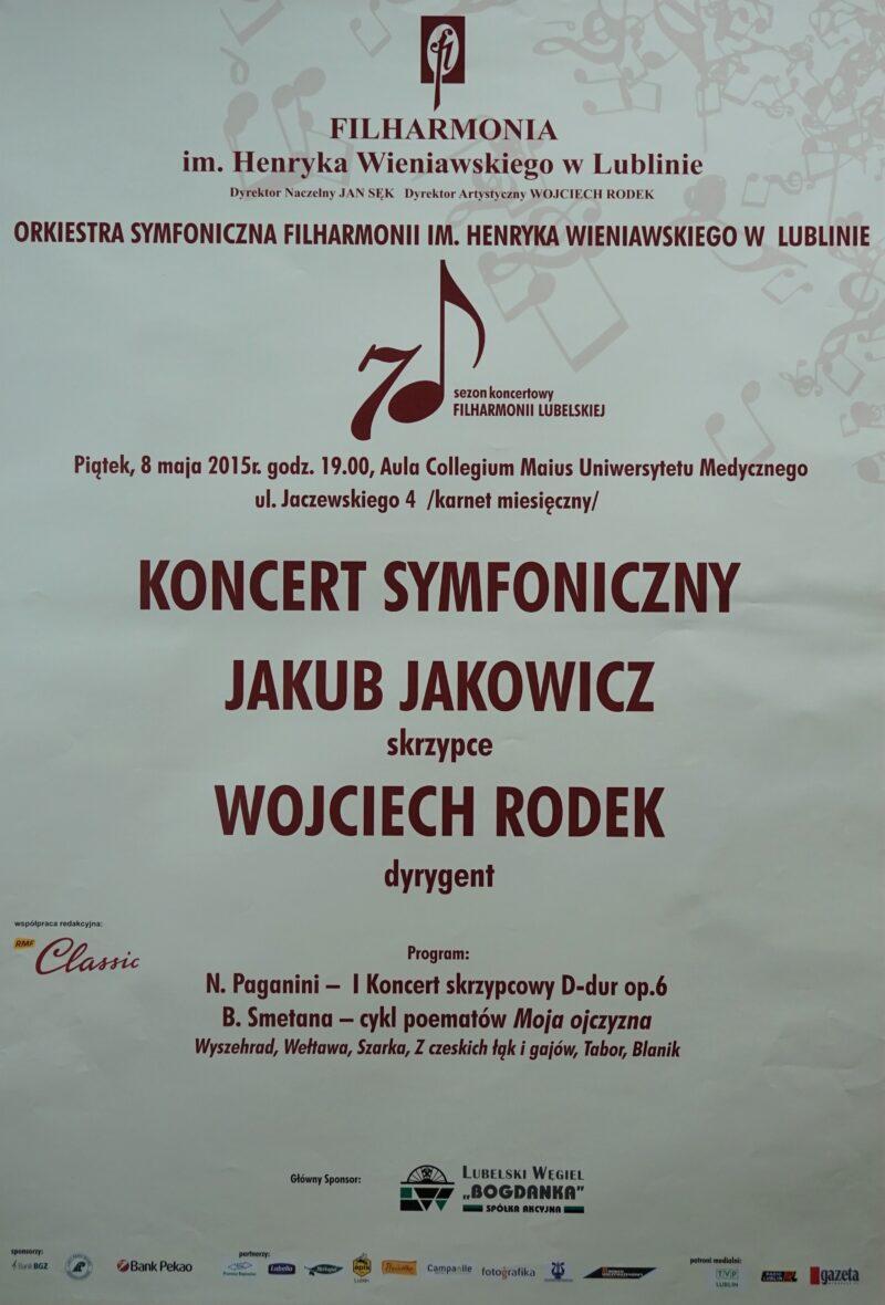 8.05.2015 Koncert symfoniczny