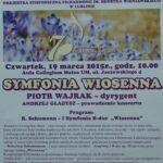 19.03.2015 Koncert symfoniczny