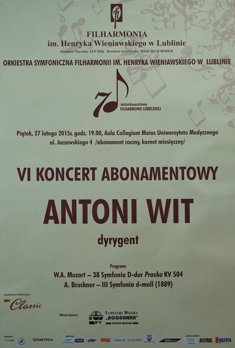 27.02.2015 Koncert symfoniczny