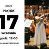 obraz z datą koncertu, 17.08.2021, sara dragan na scenie