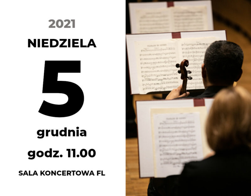 Niedzielny Poranek Muzyczny. Mikołaj w Filharmonii