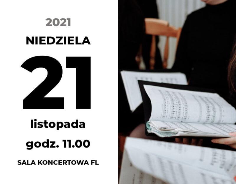 """Koncert Akademii Chóralnej """"Śpiewająca Polska"""""""